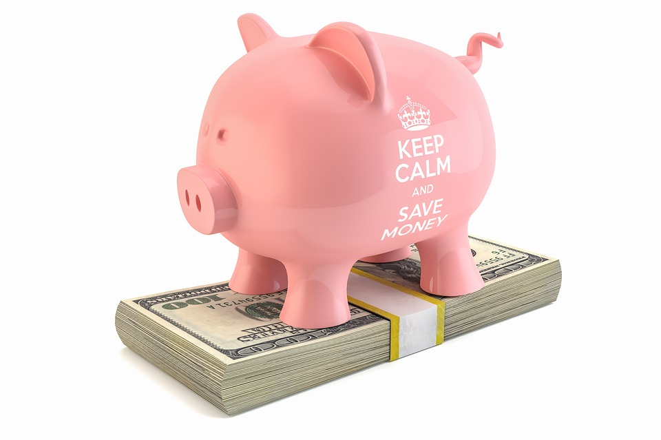 קופת חזיר על דולרים